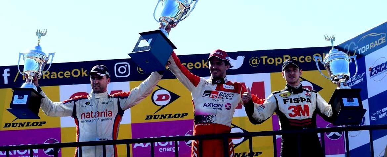 Rossi se quedó con la victoria en la segunda final
